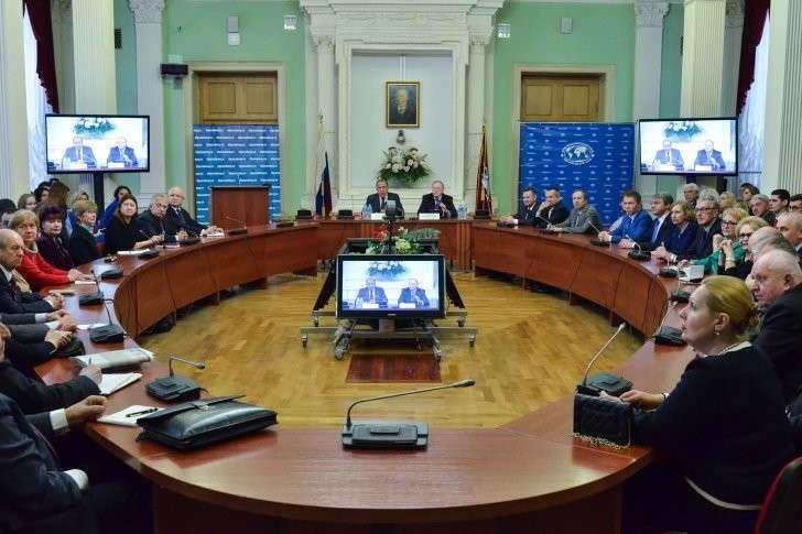 Выступление Сергея Лаврова на встрече с коллективом Дипломатической академии МИД России