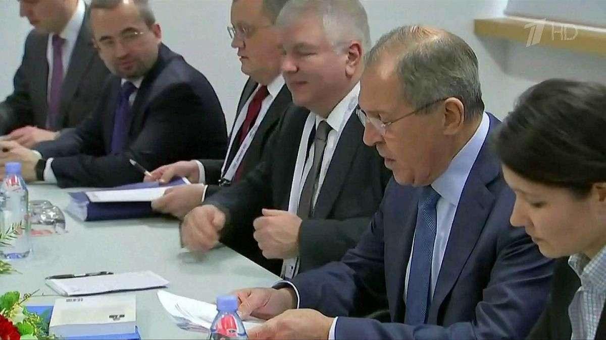 Состоялась встреча Сергея Лаврова с госсекретарем США Рексом Тиллерсоном