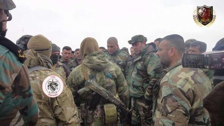 Русские военные инструкторы готовят сирийскую пехоту