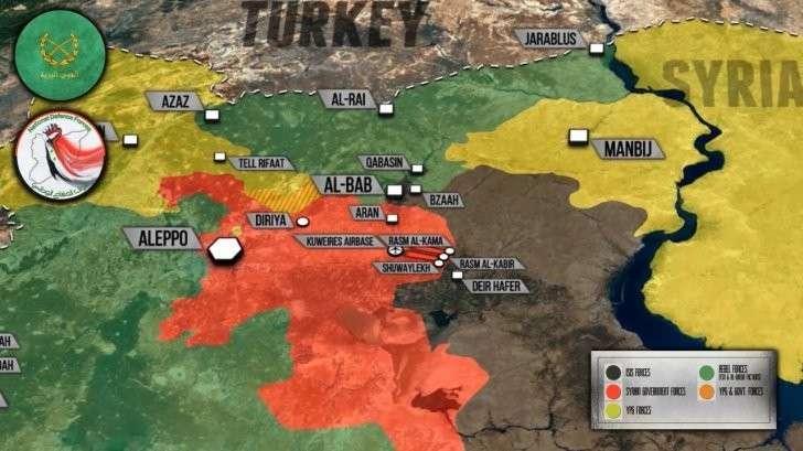 Сирия: Пальмира прямо по курсу, США хотят вписаться