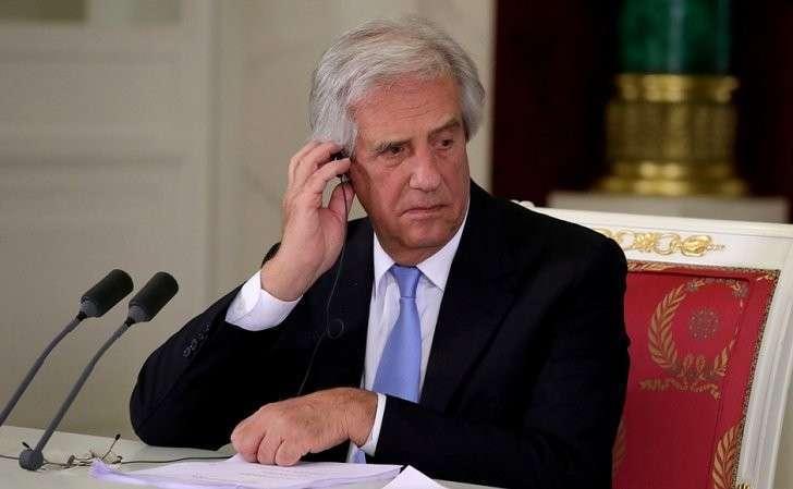 Заявления для прессы поитогам российско-уругвайских переговоров. Президент Уругвая Табаре Васкес.