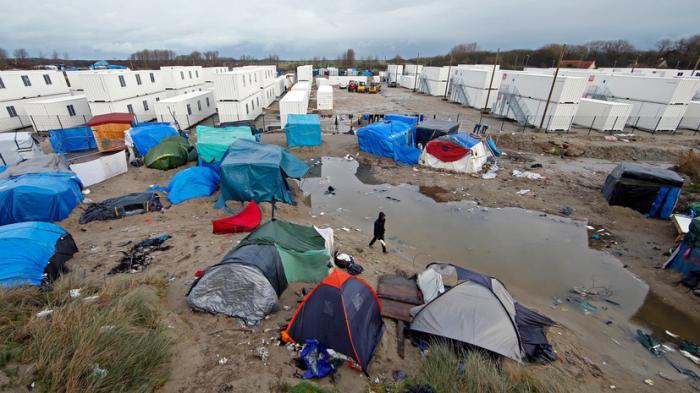 В Кале в районе бывших «Джунглей» снова поселились мигранты