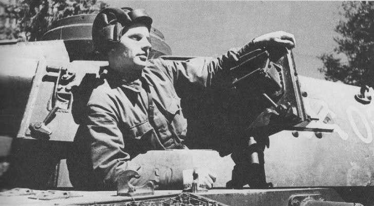 Как русские танкисты добывали себе фашистские танки и воевали на них