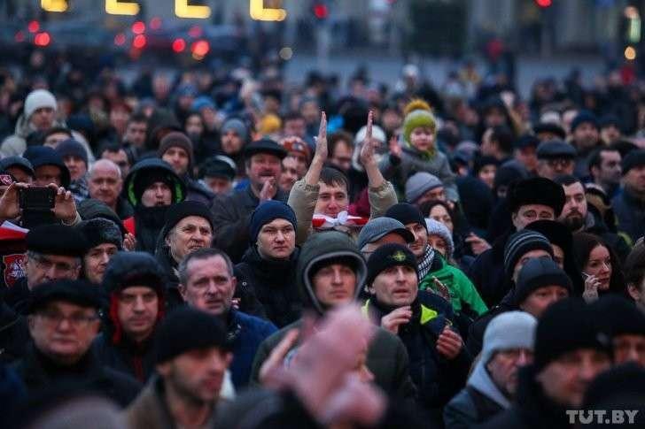 В Минске прошёл марш рассерженых