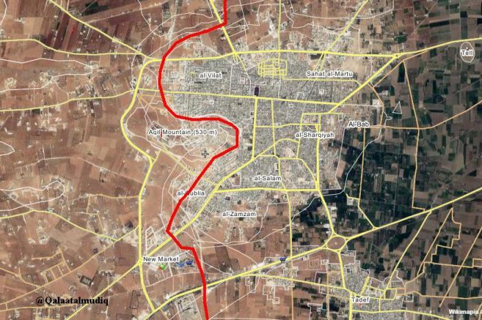 Сирия: Турция «топчется на месте» под Аль-Бабом, Сирийская армия занимает новые плацдармы