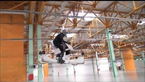 Новый российский летающий мотоцикл Scorpion 3