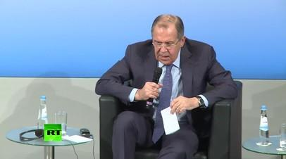 Сергей Лавров в Мюнхене: прекратите информационную войну против России