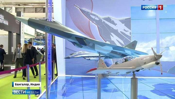 Российское оружие вызвало ажиотаж на выставке Aero India 2017