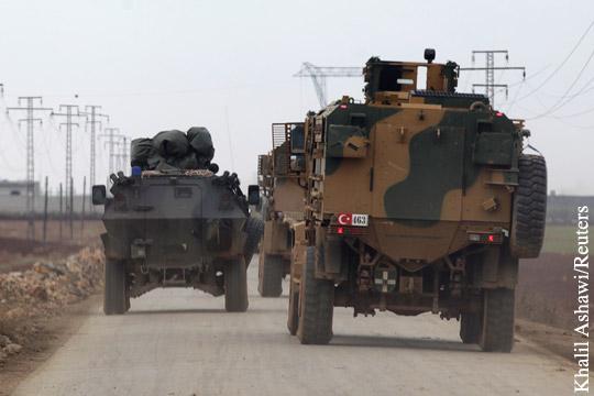 Турция пригласила в Сирию американские войска