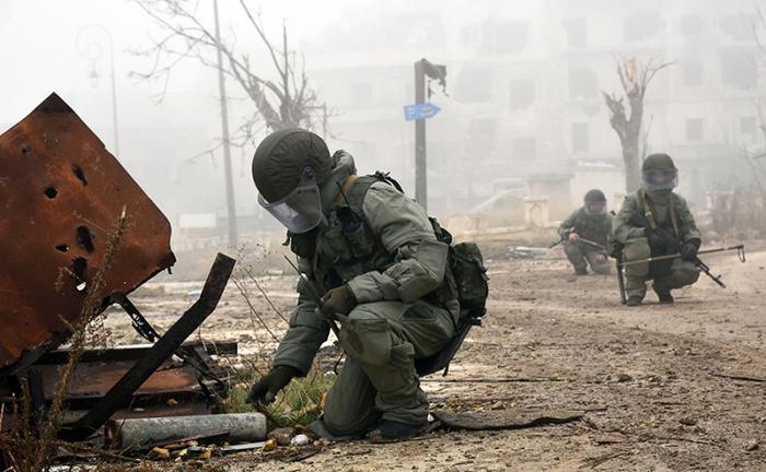 Русская армия несёт потери в Сирии: четверо военнослужащих были подорваны на фугасе