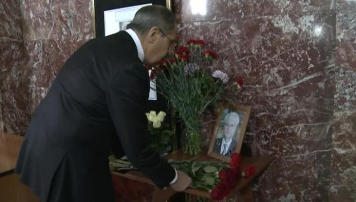 Глава МИД РФ Сергей Лавров посвятил Виталию Чуркину стихи