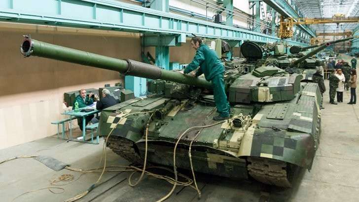 Еврейская Хунта уничтожила доставшуюся Украине от СССР военную промышленность