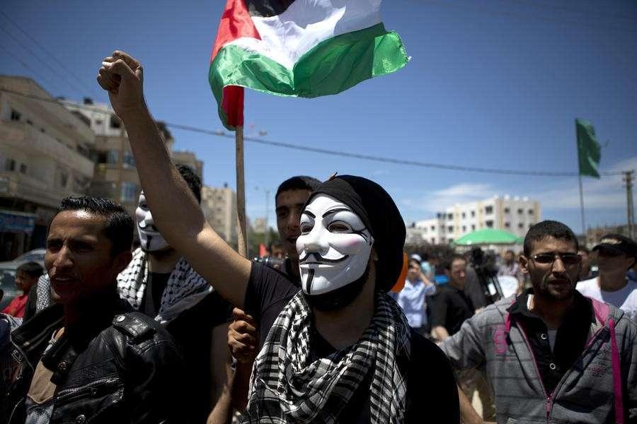 Хакеры Anonymous объявили Израилю кибервойну
