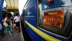 Поезд на Москву отправился из Симферополя под «Прощание славянки»
