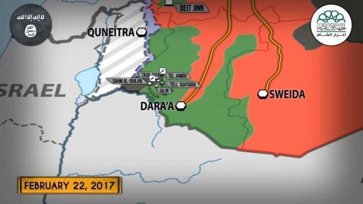Сирия: наёмники Израиля наступают на правительственный город Даръаа