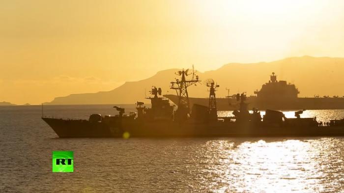 Самые зрелищные моменты учений ВМФ России. Подборка от Минобороны