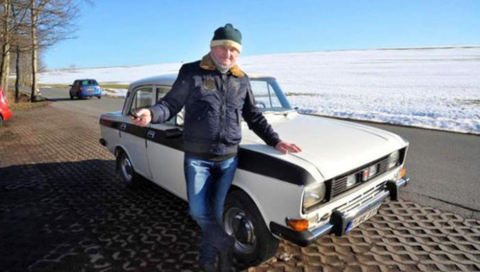 Немецкий пенсионер проехал на советском «Москвиче» миллион километров за 40 лет эксплуатации