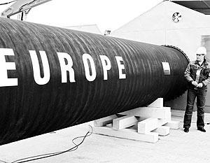 Европа занервничала из-за поставок газа