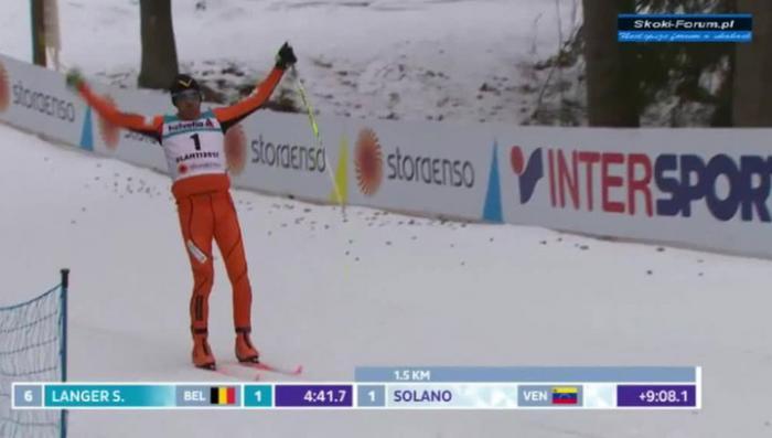 Главное не побеждать а участвовать! Худший лыжник чемпионата стал звездой Интернета