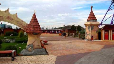 Олимпийский парк в Сочи. Осенние зарисовки сказочной архитектуры