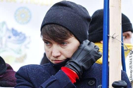 Савченко в ДНР: Надежда опять хочет стать «жертвой режима» в Украинской тюрьме