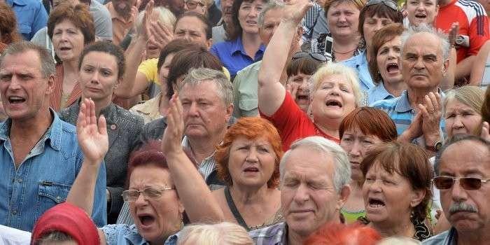 В Запорожье начинается стихийное восстание?