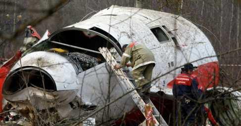 Провокация против России: Поляки и британцы ищут следы взрывчатки на самолете Качиньского