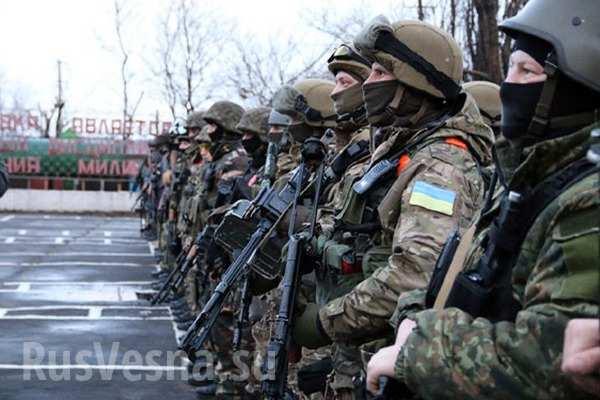 Каратели ВСУ перебросили спецназ, готовятся к нападениям и корректируют огонь с БПЛА