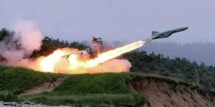 Донецк атакован ракетами, похожими на баллистические