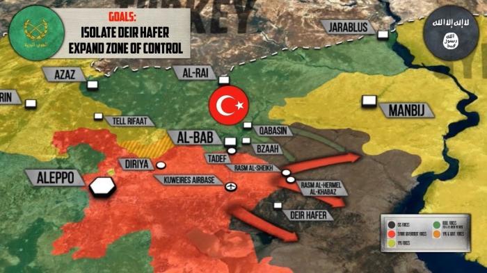 Сирия: Турки освободили Эль-Баб. Будут ли столкновения с сирийской армией?