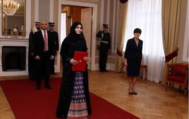 Озверевшие прибалты раздели нового посла Объединенных Арабских Эмиратов