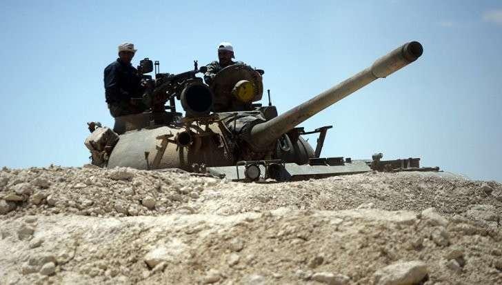 Сирийская армия взяла господствующую высоту под Пальмирой