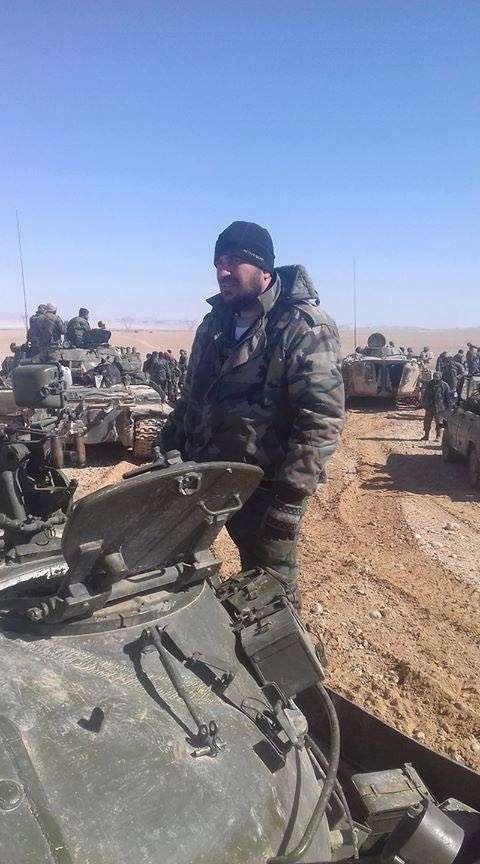 Сирия: наступление на Пальмиру. Продробно