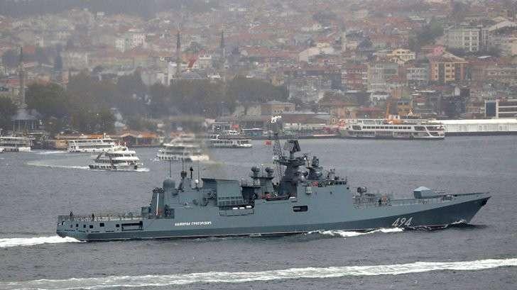 Курс на Сирию: Фрегат «Адмирал Григорович» направлен в Средиземное море