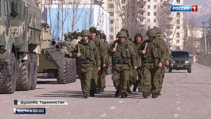 Владимир Путин и Эмомали Рахмон договорились усилить защиту границы с Афганистаном