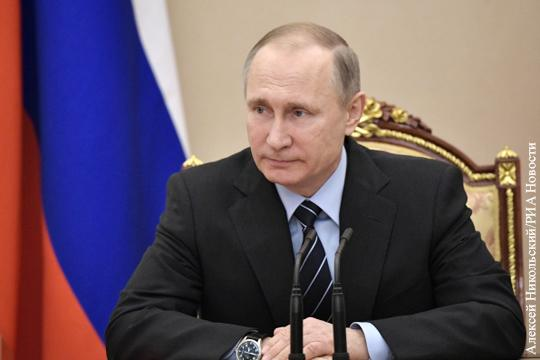 Владимир Путин прокомментировал споры с Белоруссией