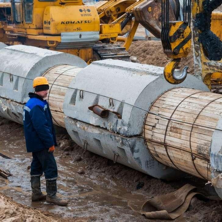 В Волгограде готовят к запуску новый экологичный коллектор