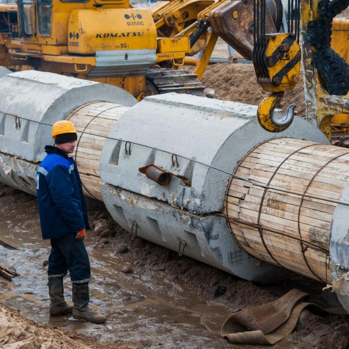 В Волгограде скоро запустят новый вместительный и экологичный коллектор