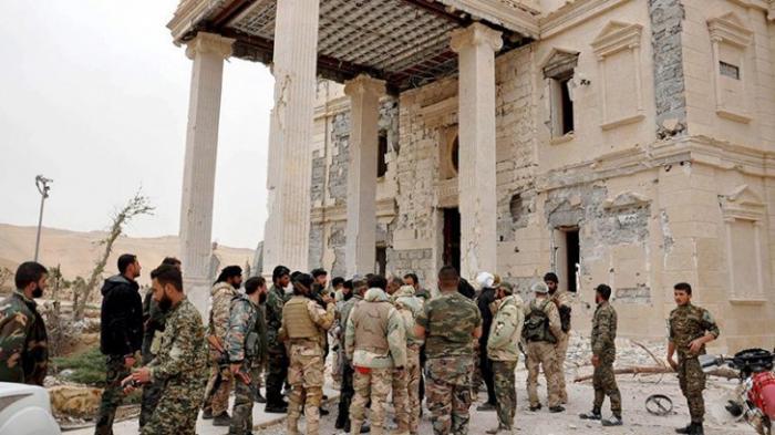 Пальмира: цитадель взята штурмом правительственными войсками
