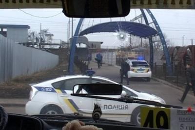 Киев: Бандит, отстреливаясь от полиции, угнал «маршрутку»