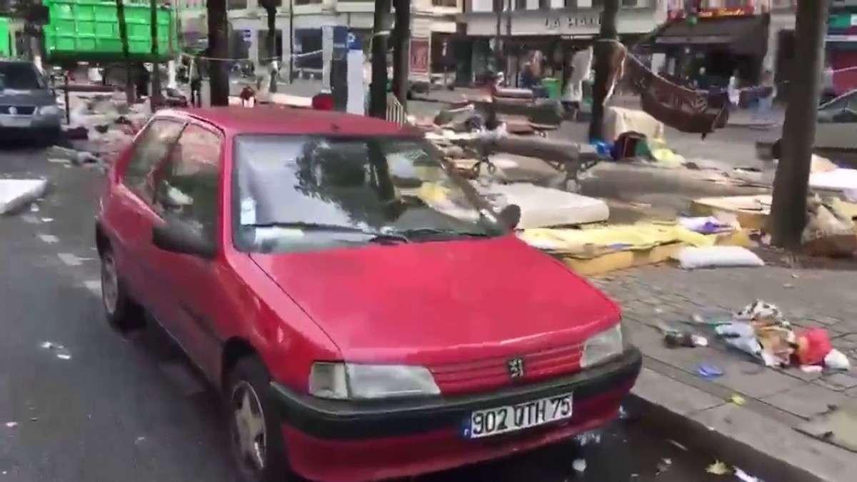 Париж: во что превратилась жемчужина Франции