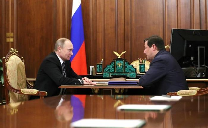Владимир Путин провёл встречу с вице-премьером Александром Хлопониным