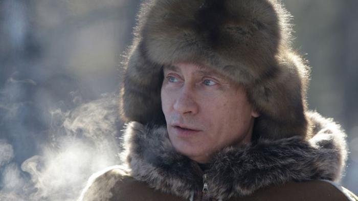 Владимир Путин: уединение в сибирской тайге. Красивая природа