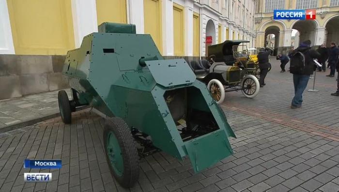 В Москве открывается уникальная выставка «Первые моторы России»