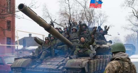 ДНР: боестолкновения и шантаж дончан карателями «АТО»