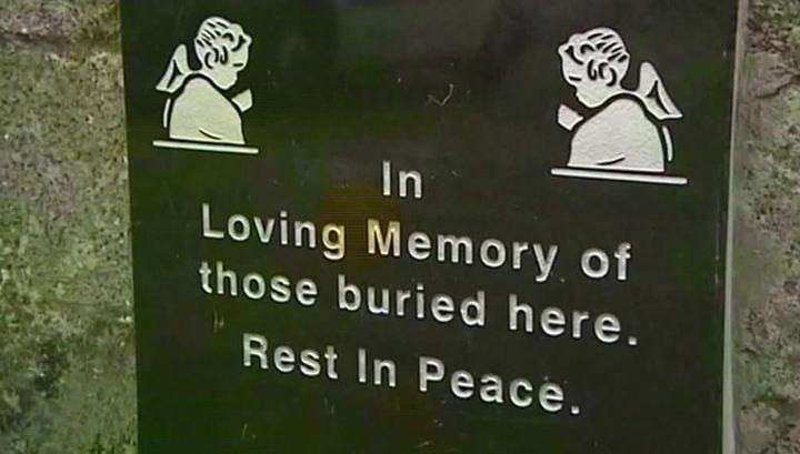 В католическом приюте Ирландии найдены массовые захоронения убитых младенцев
