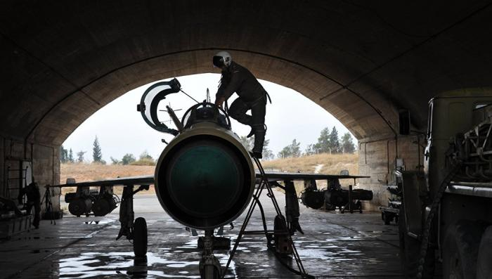 Найден пилот сирийского истребителя сбитого на границе Турции