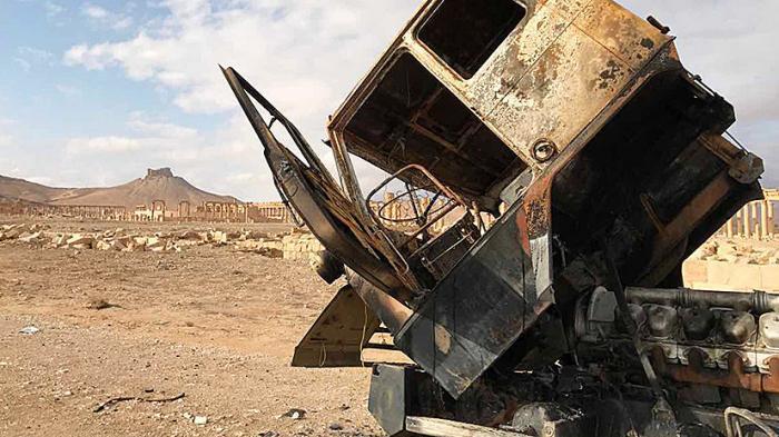 Пальмира: что оставили после себя американские наёмники, покинув древний город