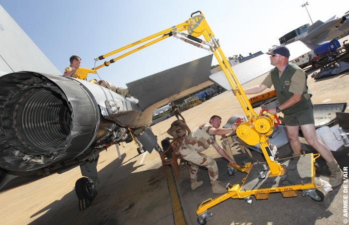 Французские истребители Rafale воевать не могут, т.к. исправны только 51% самолётов