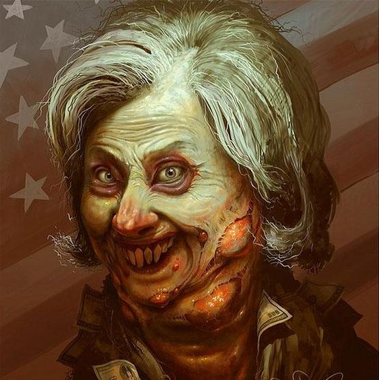 Хиллари Клинтон после поражения совсем опустилась и перестала следить за собой